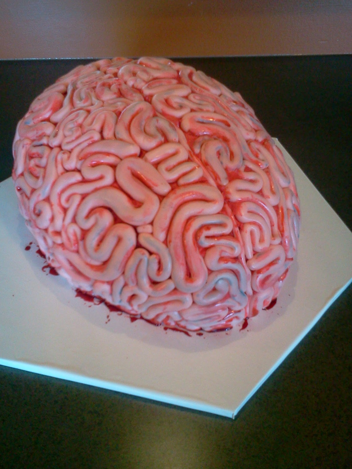 Edees Custom Cakes Brain Cake