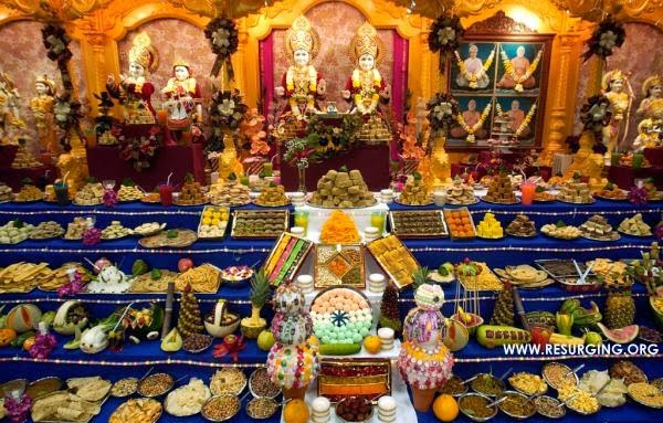 Why do we offer food to the Hindu God and Goddess before eating it ?