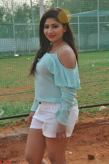 Madhulagna Das looks super cute in White Shorts and Transparent Top 49.JPG