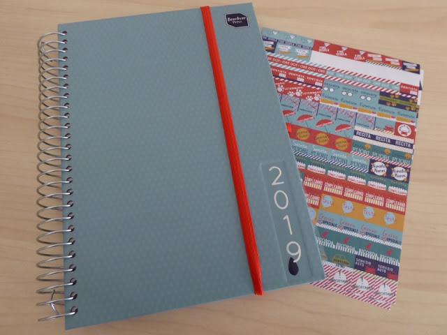 L'agenda Boxclever con gli adesivi colorati