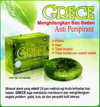 GRECE Anti Bau Badan
