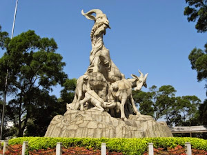 Five Rams Statue
