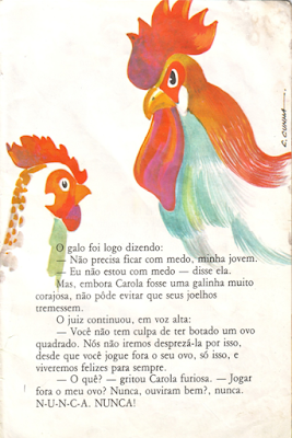 Livro O PINTINHO QUE NASCEU QUADRADO, de Regina Chamlian