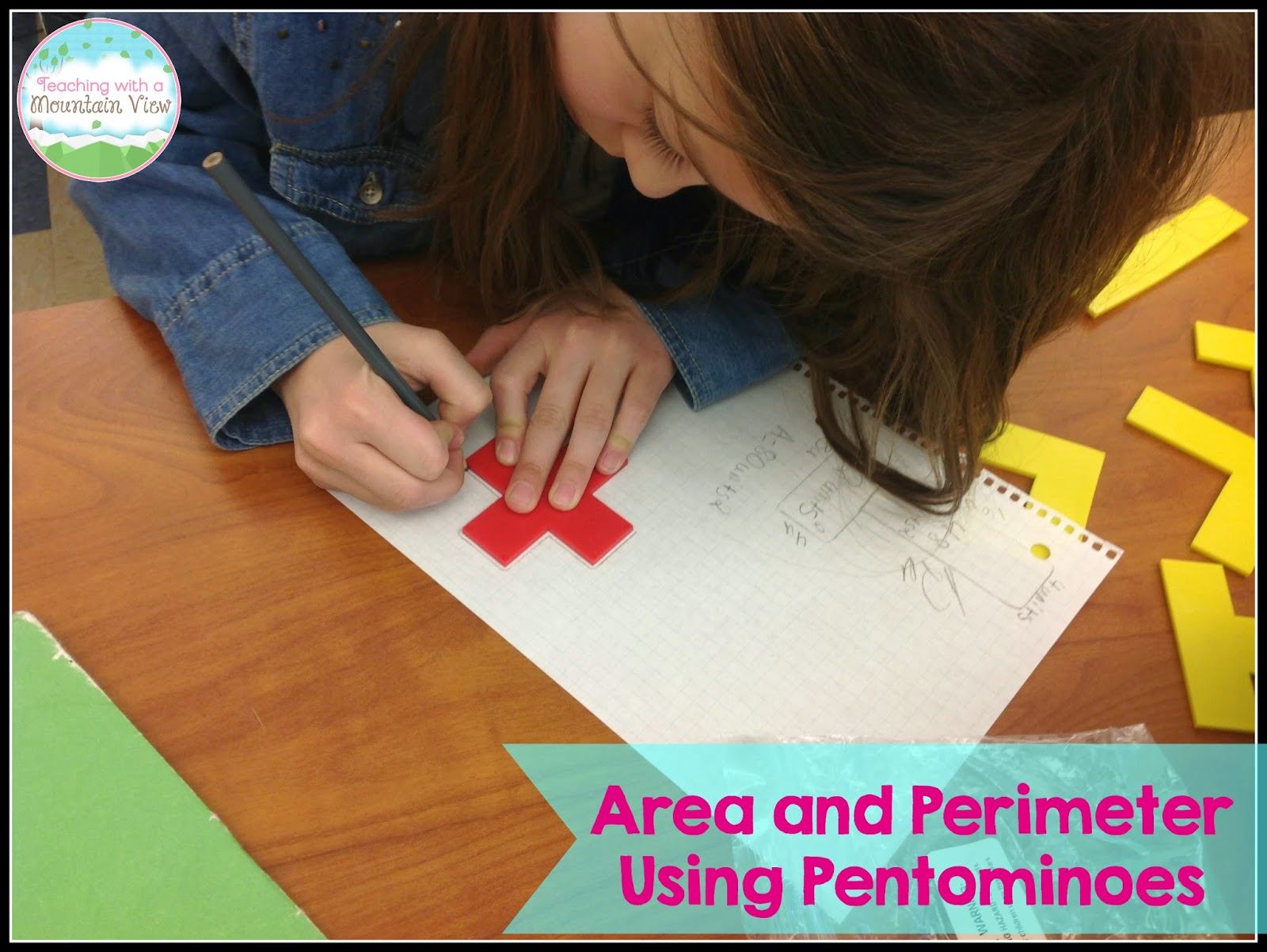 I Also Blogged About Using Pentominoes To Teach Area And Perimeter Another  Great Hands On Lesson For This Skill, Especially If You Are Tackling Area  And