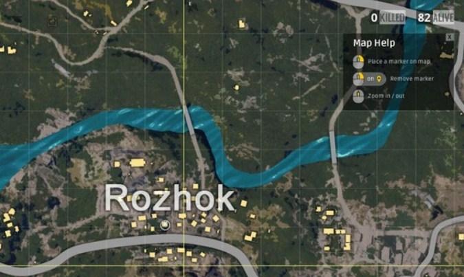 Lokasi Loot Terbaik di Erangel Map PUBG Mobile - Rozhok