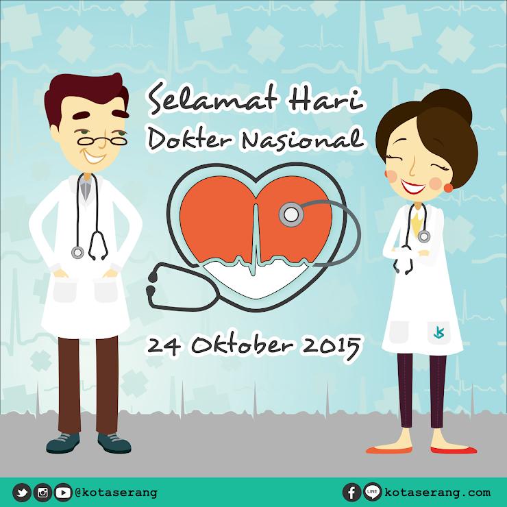 Gambar Vector - Gambar Peringatan Hari Dokter Nasional 24 Oktober 2015
