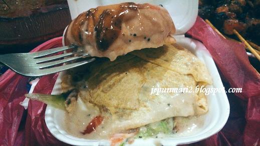 Burger cheese banjir Western, Malay & Thai Cuisine, Bandar Baru Selayang