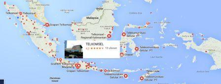 Pembagian Zona Wilayah Untuk Harga Paket Internet Telkomsel