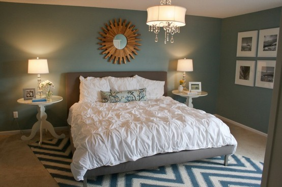 From Bedrooms To Bathrooms This Color Is Showing Up Everywhere And I Am Absolutely Loving It Pair The Blue Walls With Some Contrasting Black White