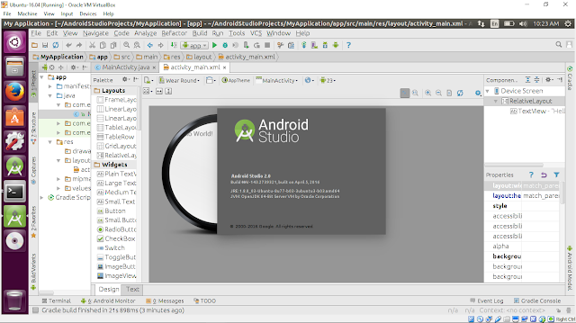 Fixed For The Fourth Dimension Being, Mistake Of Umake Android On Ubuntu 16.04: A Default Framework For Category Android Was Requested Where In That Place Is None