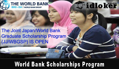 Beasiswa S2 Full World Bank Scholarships Program 2019-2020