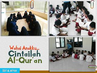 Kegiatan Membaca dan Menghafal Al-Qur'an SDIT Al-Afiyah Majalengka