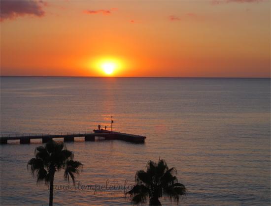 Sonnenuntergang auf Mallorca 2016