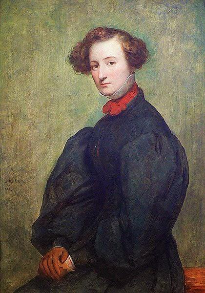 Portrait of Félicie de Fauveau, by Ary Scheffer
