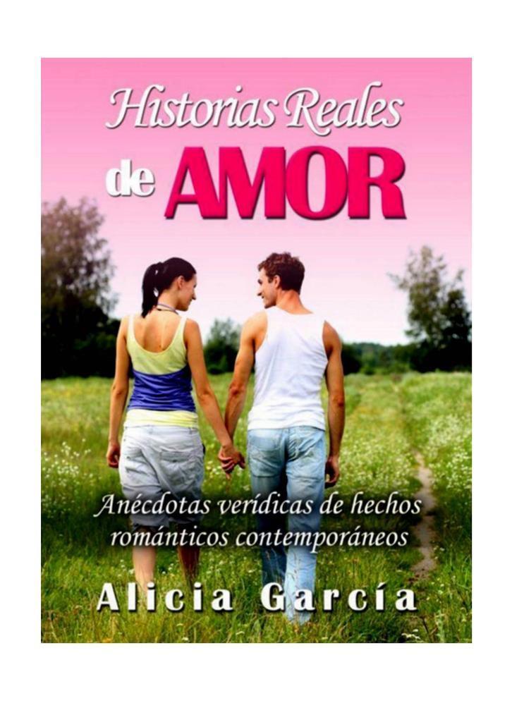 Historias reales de amor – Alicia García