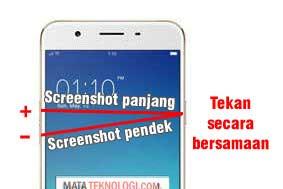 Cara Screenshot Oppo 1201 Dengan 3 Metode
