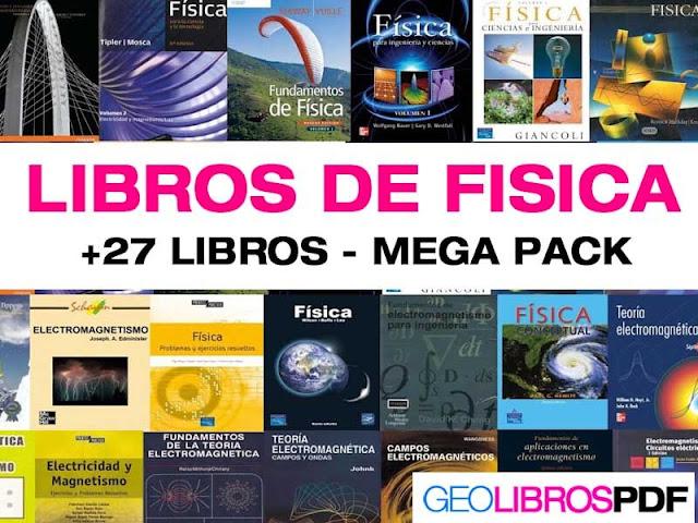 27 Libros De Fisica Mega Pack