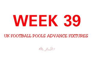 UK football pools fixtures