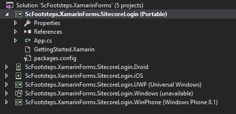 Issue While Trying to Add Sitecore Mobile SDK NuGet Packages into