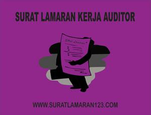 Contoh Surat Lamaran Kerja Auditor Bahasa Inggris