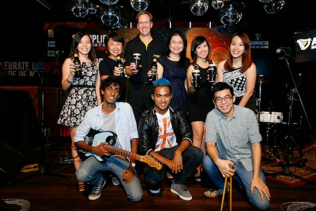 Official photo opportunity with Team Guinness Malaysia and Paperplane Pursuit