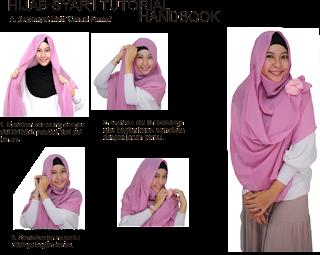Tutorial Hijab Syar'i Modern
