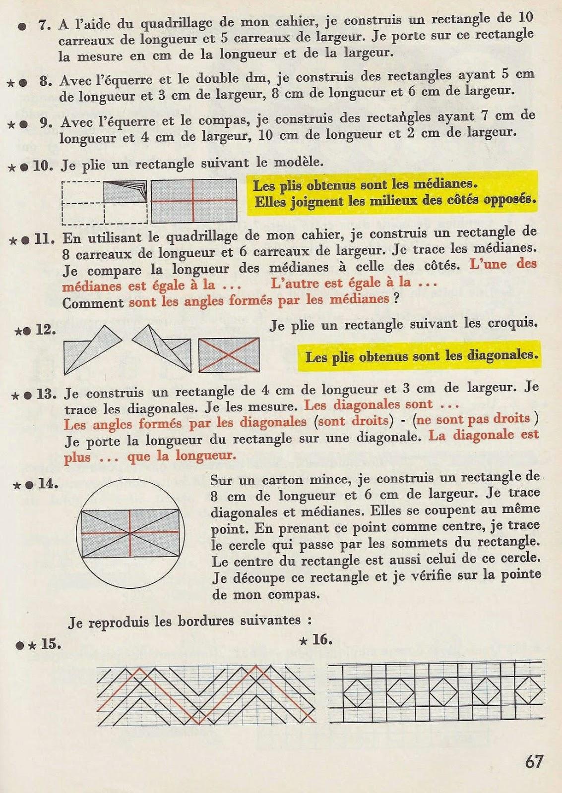 Manuels anciens ardiot wanauld budin calcul ce 1960 - Comment calculer quantite de peinture ...