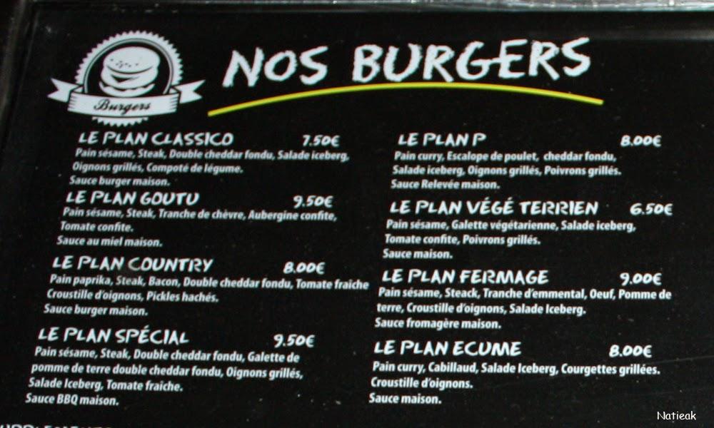 restaurant Burger et Bagel à l'américaine