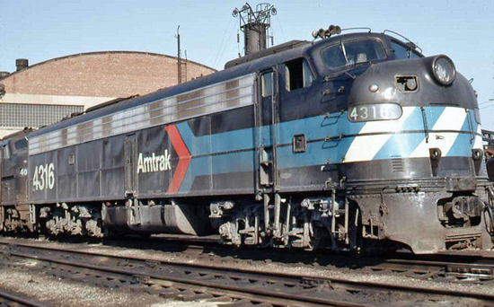 Amtrak 4316 1971