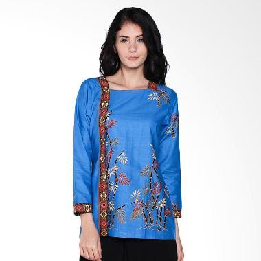 Model Dress Batik Untuk Kerja Kantoran Modern