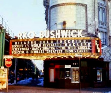 Historic Photo of RKO Bushwick Theatre Marque