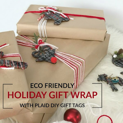 Eco-Friendly Holiday Gift Wrap and DIY Gift Tags