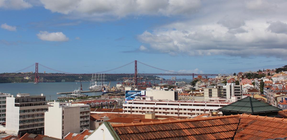 Miradouro Santa Catarina View Lissabon Lisbon