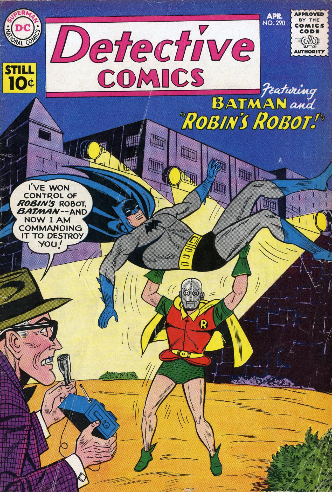 Detective Comics (1937) 290 Page 1