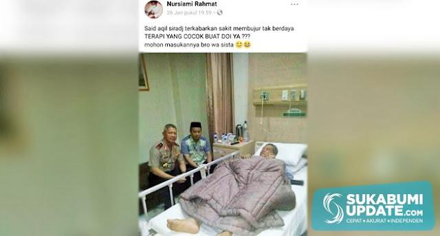 Hina Ketua PBNU di Medsos, Nahdiyin Muda Sukabumi Ancam Jemput Paksa Pemilik Akun Ini