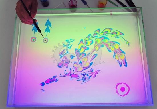 فن الرسم على الماء image0012.jpg