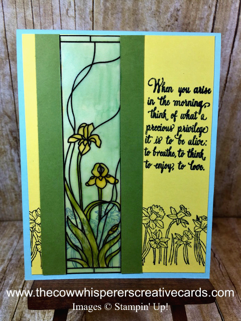 Tip, Markers on Vellum, Stampin Blends, Stampin Write