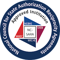 SARA logo.  Text: National Council for State Authorization Reciprocity Agreements NC-SARA