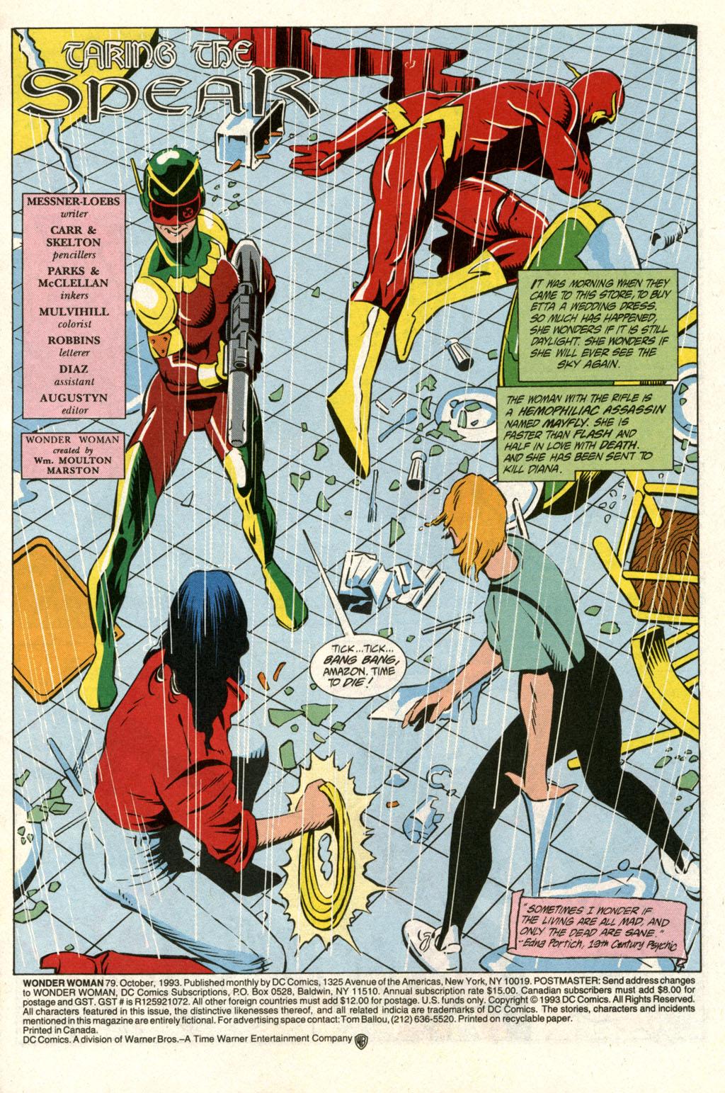 Read online Wonder Woman (1987) comic -  Issue #79 - 3