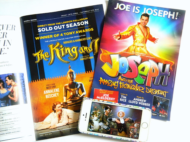 World Theatre Day- a selection of musical theatre magazines, leaflets and photographs