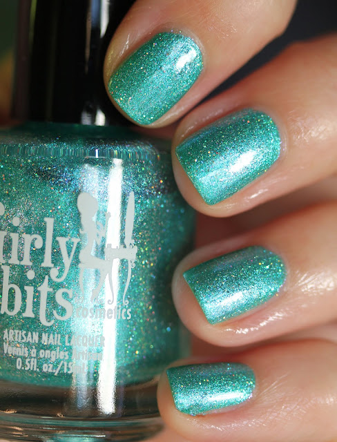 Girly Bits Cosmetics CoTM July 2017 Mermaid of Honour