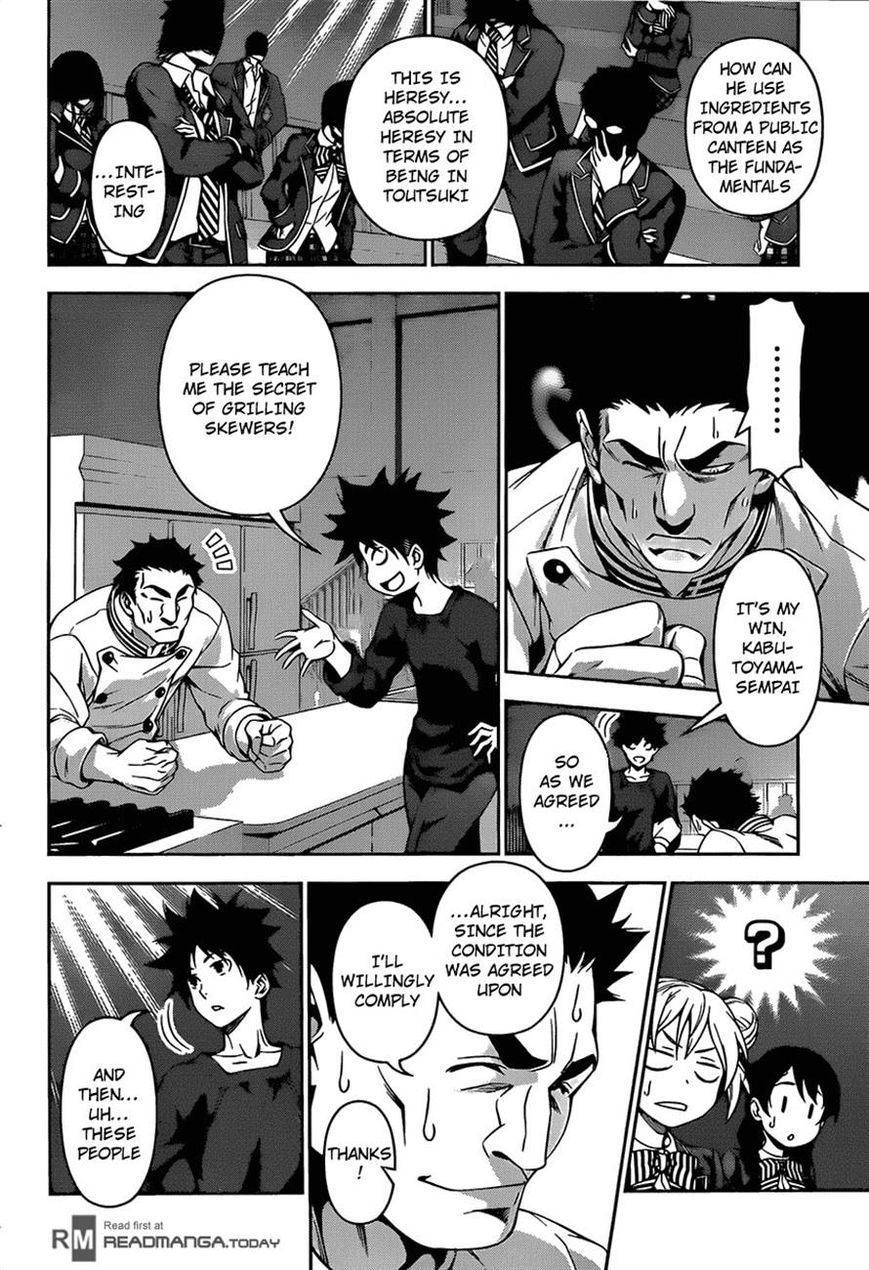 Shokugeki no Soma - Chapter 134