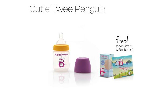 Tupperware Cutie Twee Penguin Promo November 2016