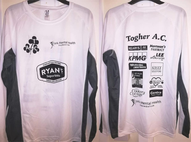 5e1632a1 Dry fit tops for the 2018 Togher 5k