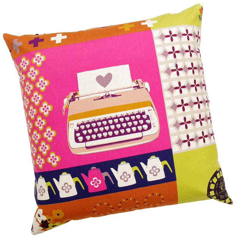 Pillow Cover - Melody Miller - Ruby Star Shining