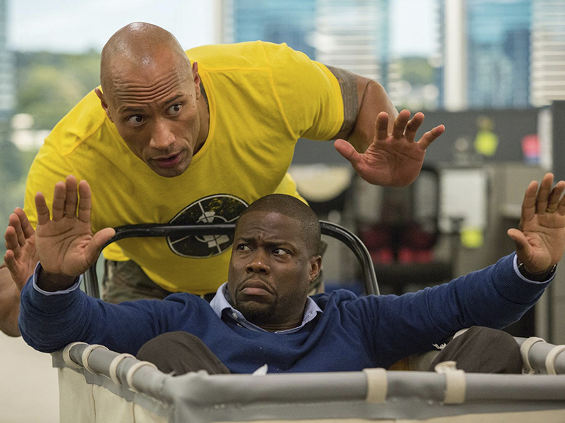 Dwayne Johnson y Kevin Hart podrían protagonizar el remake de 'Jumanji'