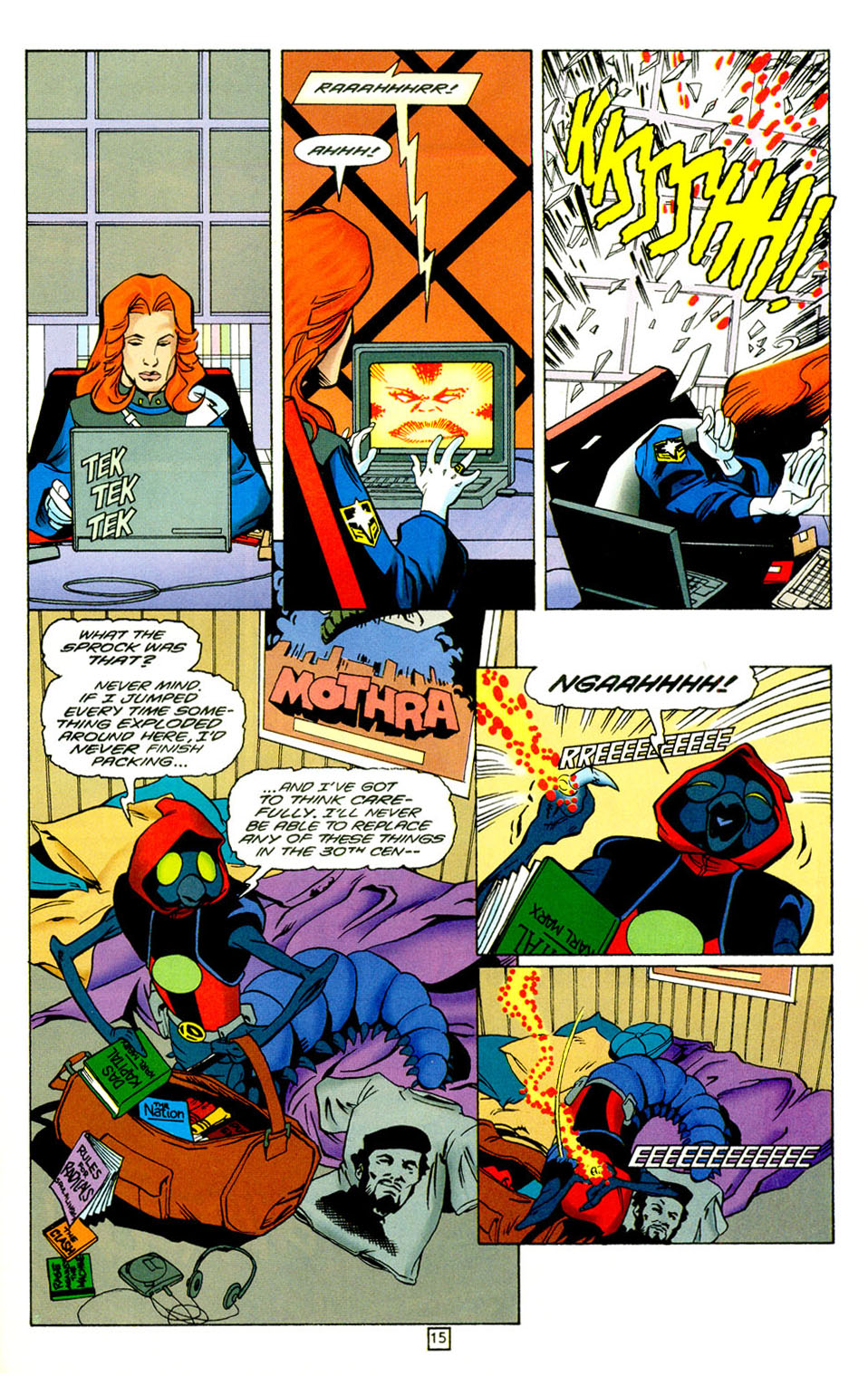 Legion of Super-Heroes (1989) 98 Page 15