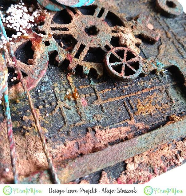 rust paste patina