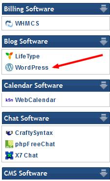 WordPress Installation - Installing WordPress Blog Software - Step:2