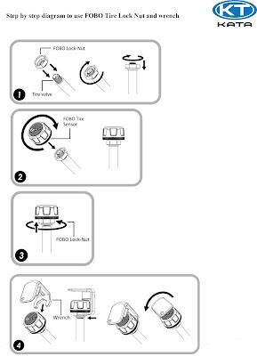 Cơ chế chống trộm cảm biến Fobo Tire